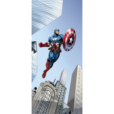 Capitán América entre Rascacielos