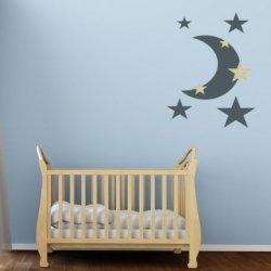 La Luna y sus Estrellas Mágicas