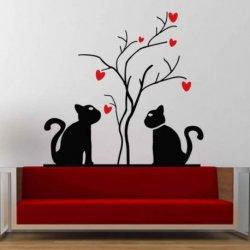 Gatitos en el Árbol de Amor