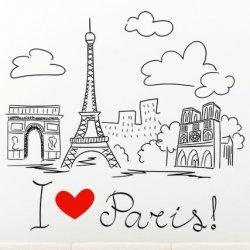 Dibujo a Mano Alzada París
