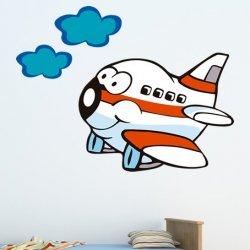 Un Avión Animado de Altura