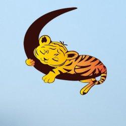 Tigre Bebé Dulces Sueños