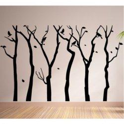 Los Árboles Desnudos en Otoño