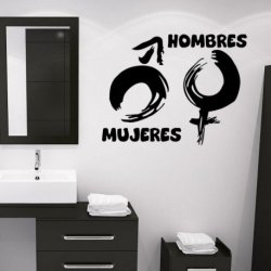 Símbolos de Mujeres y Hombres