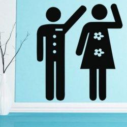 Hombres y Mujeres Saludando