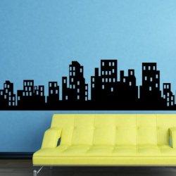 Skyline de Una Gran Ciudad