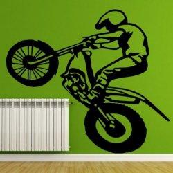 Motero de Motocross