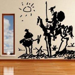 Representación de Don Quijote