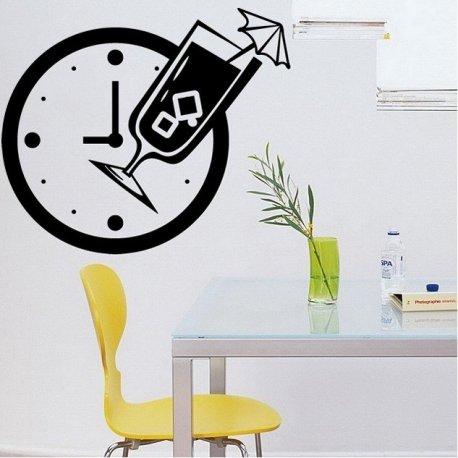 Vinilo decorativo Reloj para la Cocina