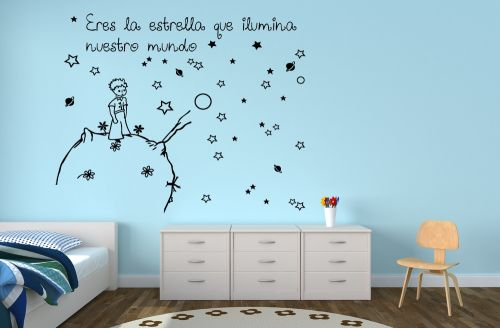 Vinilos infantiles el principito blog de vinilos decorativos - Vinilos decorativos para pared infantiles ...