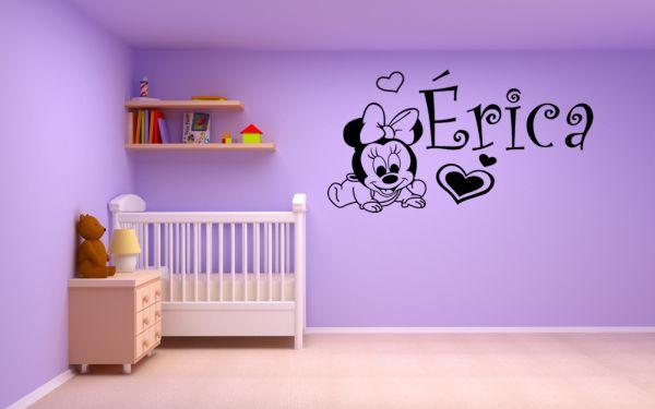 Vinilos infantiles mickey mouse y minnie blog de vinilos - Vinilos para habitaciones de bebes ...