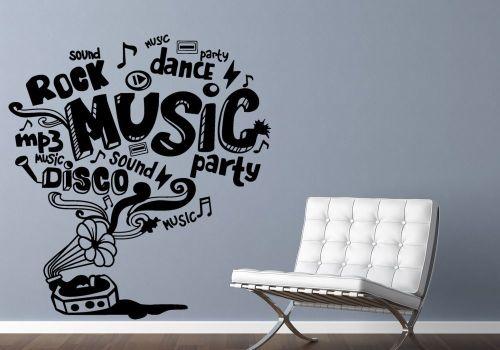 Vinilos decorativos musica blog de vinilos decorativos for Vinilos decorativos pared musicales