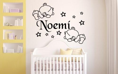 Vinilo decorativo infantil ositos dormilones - Pegatinas para dormitorios infantiles ...
