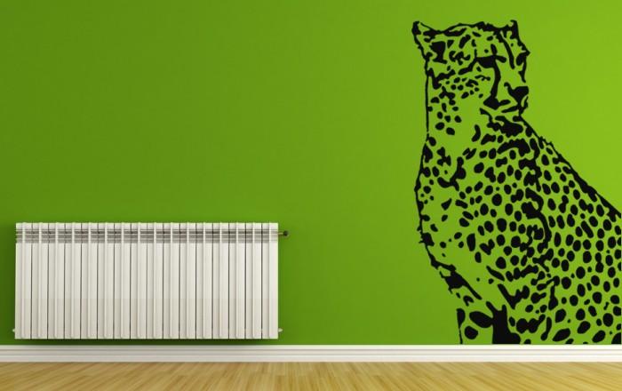 Vinilo decorativo Leopardo de la Sabana Africana