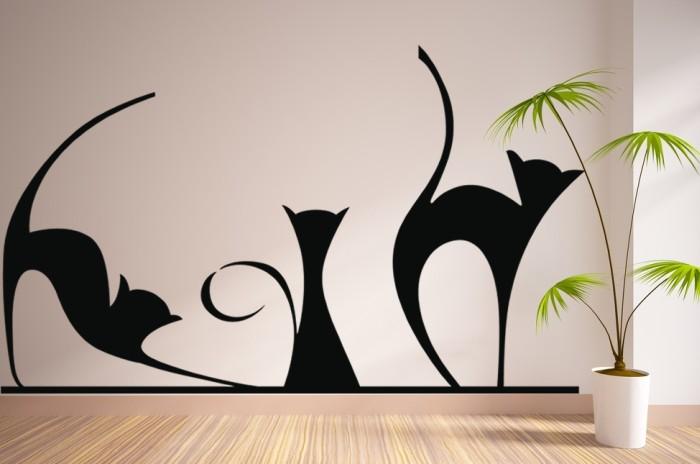 2ea8e9891a6a3 Vinilo decorativo La Sombra de los Gatos