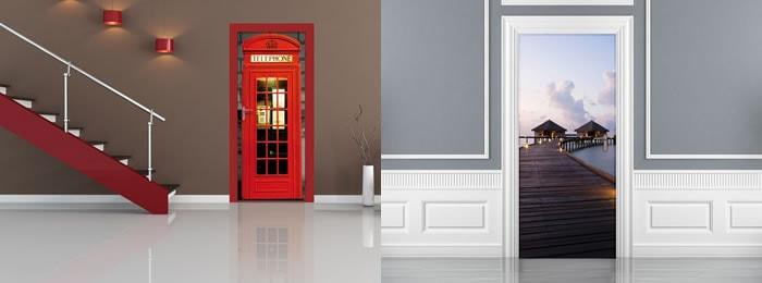 fotomurales para puertas a todo color