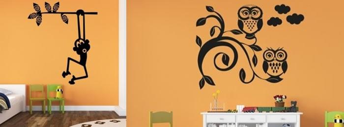 Vinilos rboles infantiles personalizados y decorativos - Vinilos personalizados pared ...