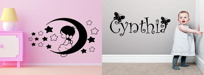 Vinilos para ni as personalizados y decorativos para tu pared for Vinilos para habitacion nina