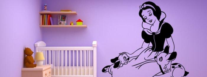 Vinilos princesas personalizados y decorativos para tu pared - Vinilos decorativos pared personalizados ...