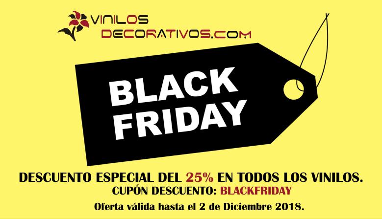 BlackFriday en Vinilos Decorativos
